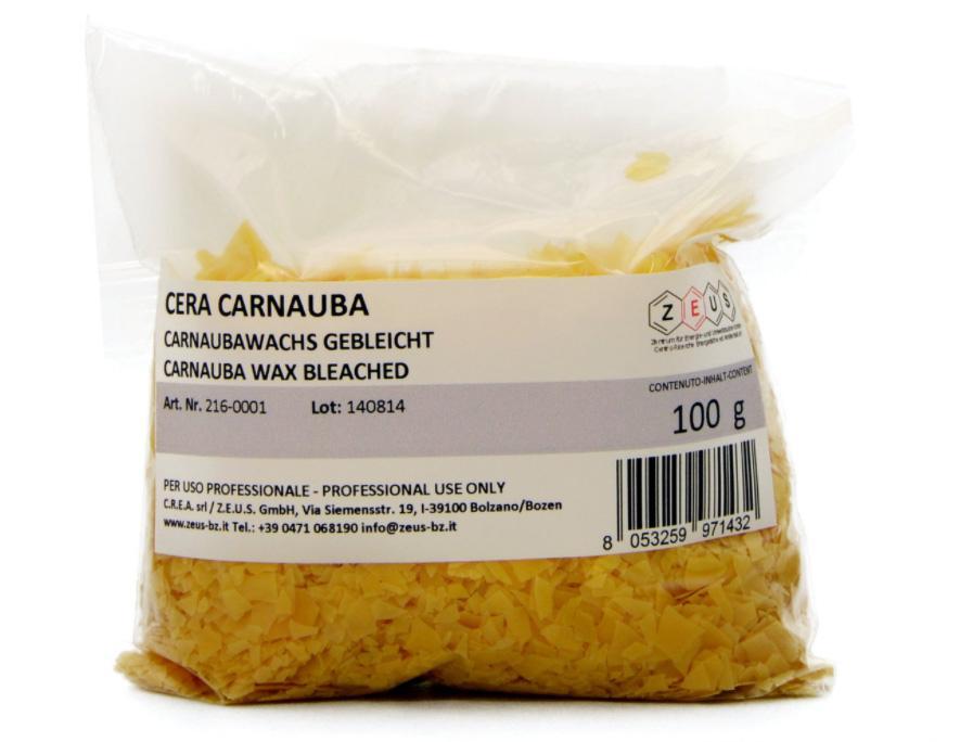 Cera carnauba, by Restauro-online