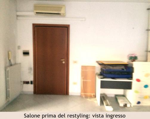 Salone - ingresso in mansarda pima