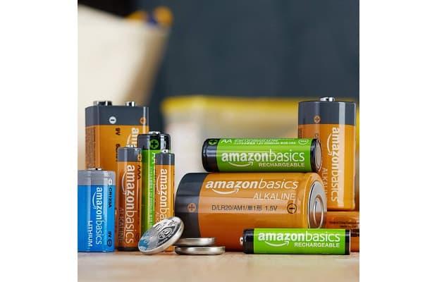 Batterie ricaricabili Amazonbasics da Amazon.it