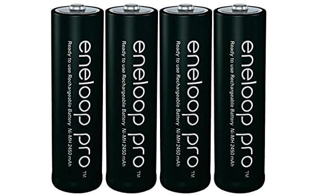 Batterie ricaricabili Panasonic Eneloop Pro da Amazon.it