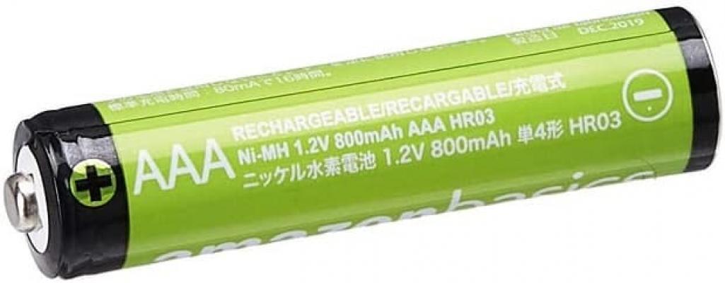 Amazonbasics batterie ricaricabili