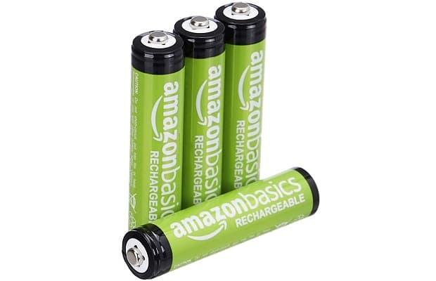 Batterie ricaricabili Amazonbasic, su Amazon.it