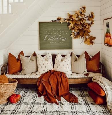 La casa in autunno, da lizmarieblog.com