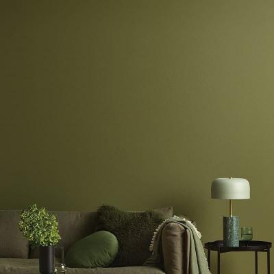 Verde oliva nella casa autunnale, da shop.porterspaints.com