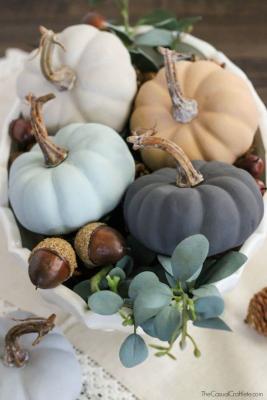 Zucche decorative, da countryliving.com
