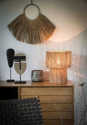 Lampada in iuta Isma - Foto by Maisons du Monde
