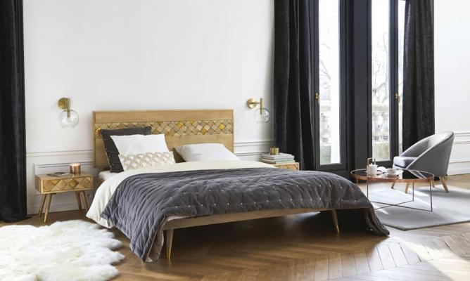 Letto in stile eclettico Salome - Foto by Maisons du Monde