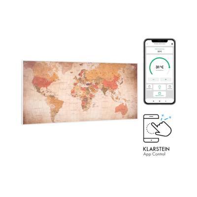 Radiatore a infrarossi attivabile via app Wonderwall Air Art Smart di Klarstein