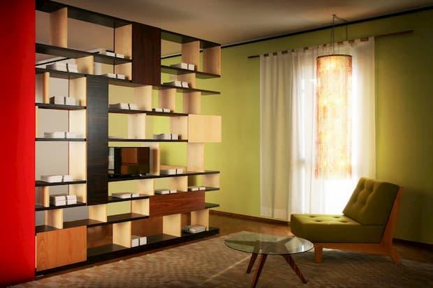 Mobili in legno di ebano - Morelato - libreria Babilonia