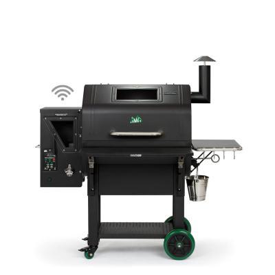 Barbecue a pellet super accessoriato, da Green Mountain Grill