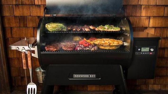 Barbecue a pellet di alta gamma, da Traeger