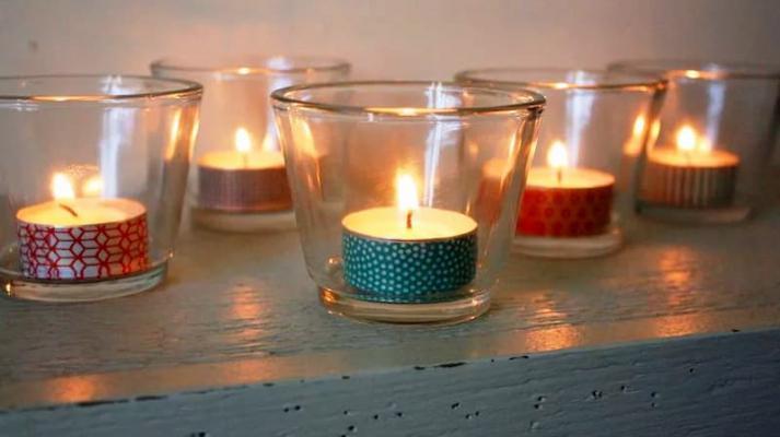 Washi tape per decorare oggetti e pareti