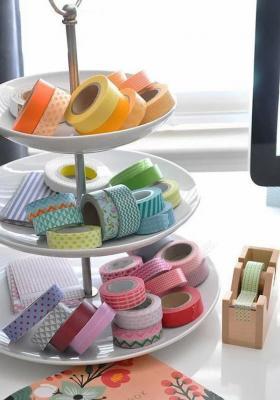 Washi tape per la decorazione di oggetti