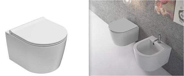 Sanitari per un bagno piccolo: Forty3 di Globo