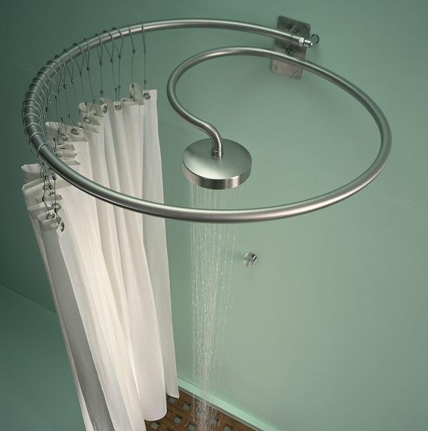 Soluzione doccia per bagno piccolo: Pluviae di Rapsel