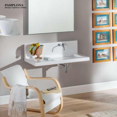 Rapsel, lavabo compatto Pamplona per bagni piccoli