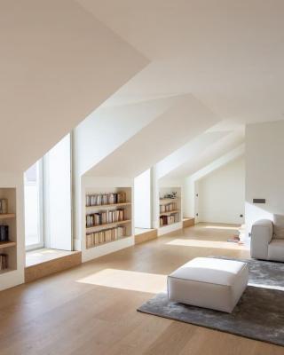 La luce in una mansarda va progettata con attenzione - Pinterest