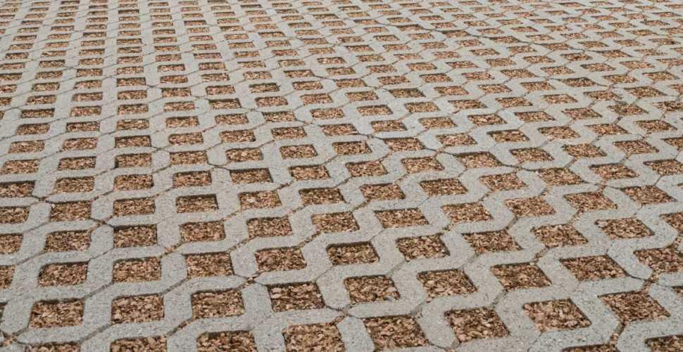 Pavimentazione drenante Evergreen® di Ferrari BK