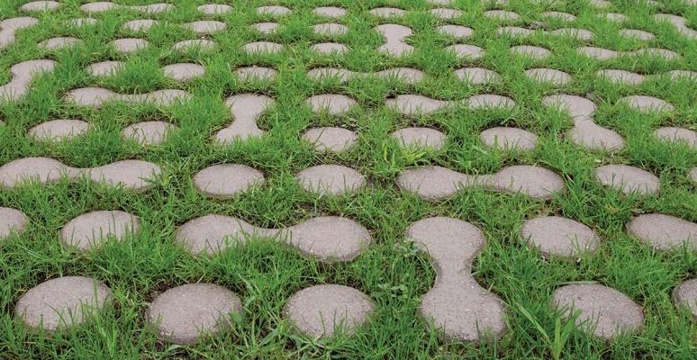 Pavimento drenante per esterni Lunix di Ferrari BK