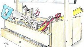 Come costruire in fai da te una cassetta per gli attrezzi