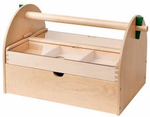 Cassetta utensili legno Lustigt Ikea