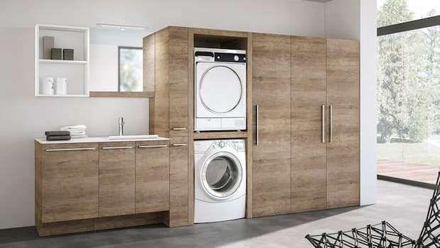 Come organizzare una lavanderia in casa in spazi piccoli