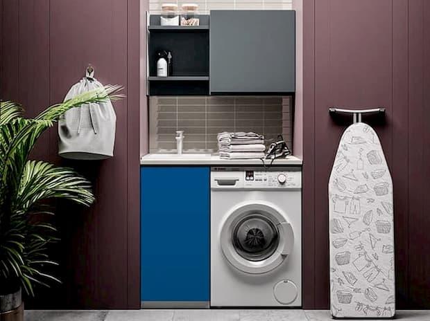 Lavanderia in casa in piccoli spazi, BIREX, linea Idrobox