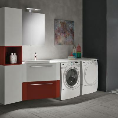 Lavanderia in casa in piccoli spazi, GEROMIN