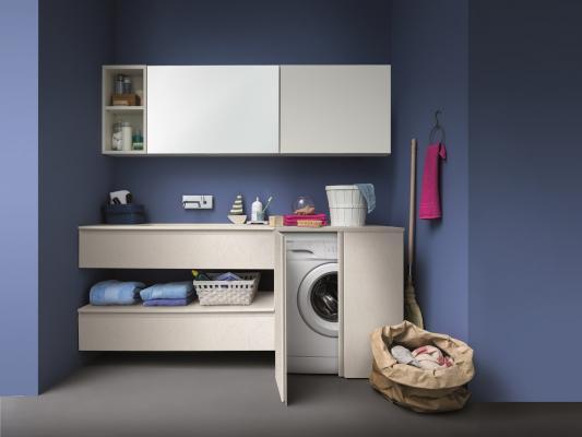 Lavanderia in casa in piccoli spazi, BIREX