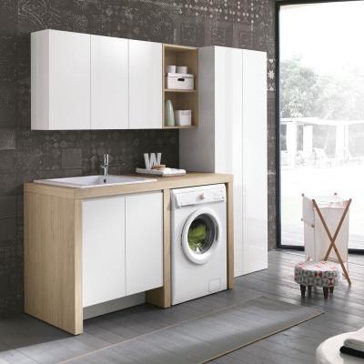 Lavanderia a casa in piccoli spazi, GEROMIN