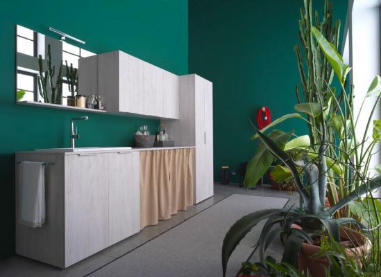 Lavanderia a casa in piccoli spazi, IDEAGROUP