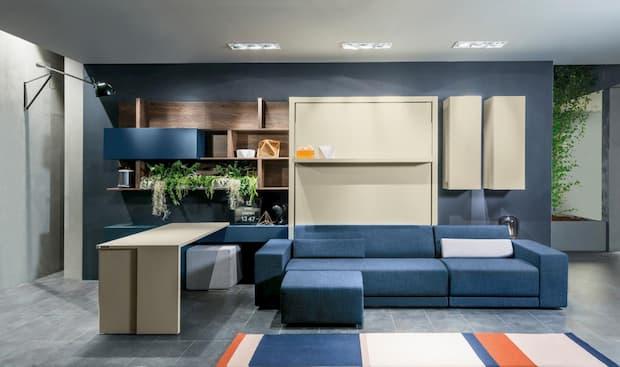 Piccolo ufficio in casa per lo smart working, Clei, linea Girò