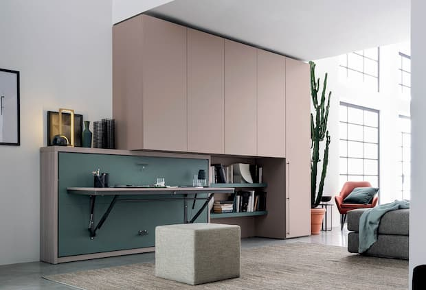 Piccolo ufficio in casa per lo smart working, Clever, linea IM20-12