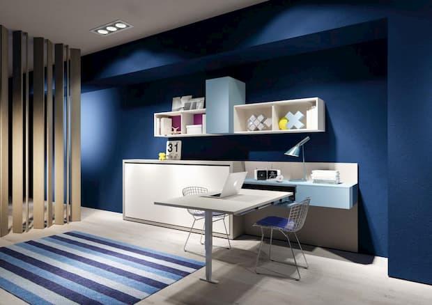 Piccolo ufficio in casa per lo smart working, Clei, linea App