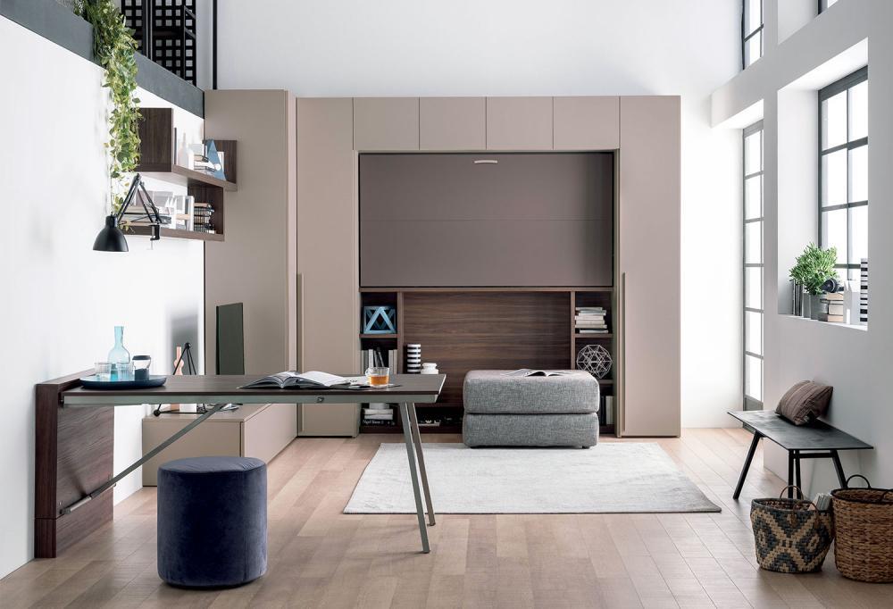 Piccolo ufficio in casa per lo smart working, Clever, linea IM20-14