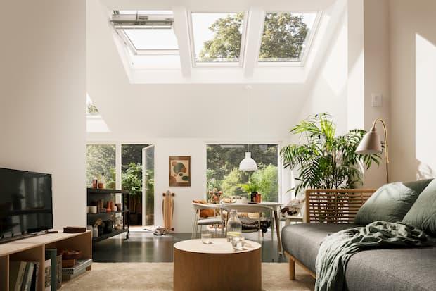 Illuminare correttamente una mansarda, finestre per tetti a falda, VELUX