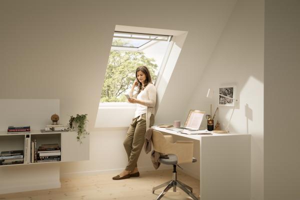 Illuminare una mansarda, finestre per tetti a falda, VELUX