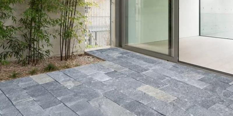 Pietra naturale pavimento Caravaggio di Maspe