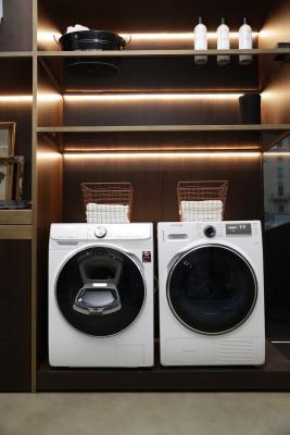 Le lavasciuga con sistema a vapore di Samsung