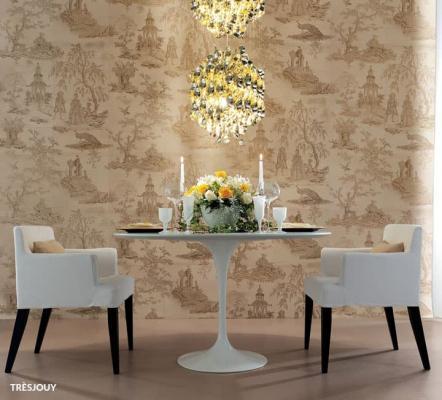 Novoceram Tres Jouy, ceramica che imita motivi decorativi francesi