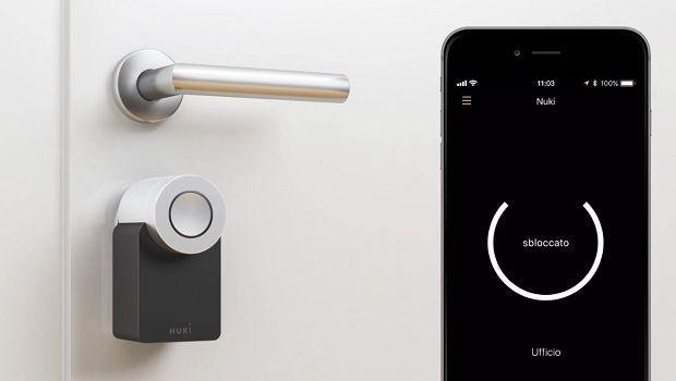 Smart lock: la serratura intelligente per la porta di casa