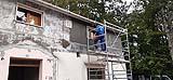 Intervento di miglioramento sismico in facciata