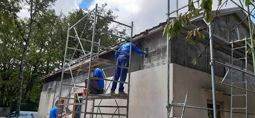Adeguamento sismico con sistema PLANITOP e rete MAPEGRID - Mapei
