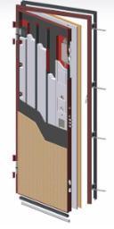 Componenti di una porta blindata