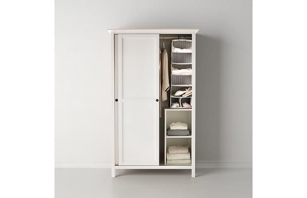 Camera shabby armadio Hemnes di Ikea