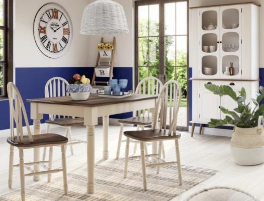 Tavolo e sedie in stile country su Etnicoutlet.it