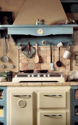 Cucina country modello Doria di Marchi Cucine