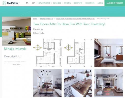 Gopillar è il portale per la progettazione online basata su contest internazionale