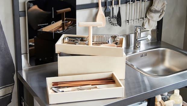 Contenitore per stoviglie Ikea RÅVAROR - Foto by Ikea