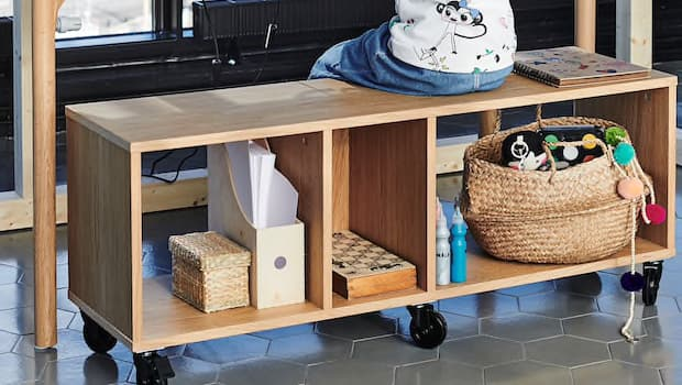 Panca multifunzione Ikea RÅVAROR - Foto by Ikea